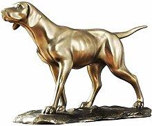 Statua Scultura Animale Cavallo Testa Metallo