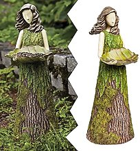 Statuaria Di Fata Felce Di Sherwood Con