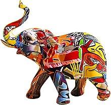 Statuatta Animali In Resina,Piccolo Elefante