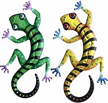 Statue Animale Gecko Ferro Artee Figura per