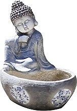 Statuetta di Ornamento del Buddha in Meditazione