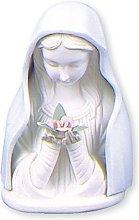 Statuina della Madonna illuminata, in porcellana,