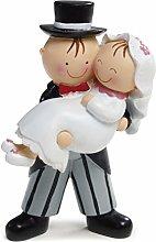 Statuina Per Torta Cake Topper Dolce Sposa in