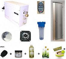 Steamplus ® - Kit hammam steamplus con porta e