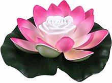 Stecto - Luce artificiale di loto galleggiante, a