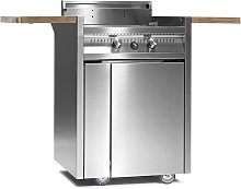 Steel Cucine Steel Green Barbecue