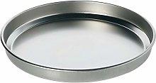 STEEL PAN 12040 Teglia Pizza, Stainless Steel