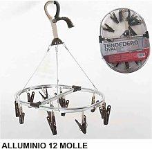 Stendibiancheria Alluminio 12 Molle