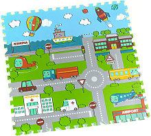 STI - Tappeto Puzzle Eva Mappa Tappetino Gioco