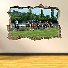 Sticker da muro - 3D- Adesivo murale per corse di