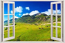 Sticker da muro - Adesivo Effetto 3D Stickers -