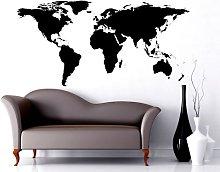 StickerDesign Adesivo Murale Mappa Mondo