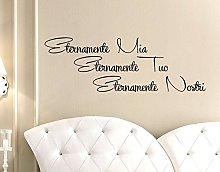Stickerdesign Adesivo Murale Wall Stickers Frase