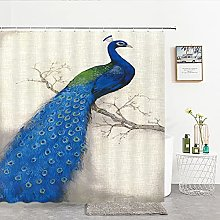 Stile cinese Fiori Scenario di uccelli Tenda da