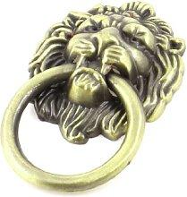 Stile vintage bronzo testa di leone Hardware
