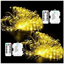StillCool - Catena di luci a LED, 8 modalità ,