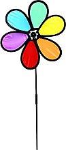 Stormdoing - Girandola a vento multicolore fai da