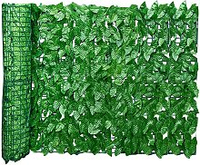 Stretch Rete per recinzione in foglie artificiali,