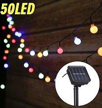 String Lights Outdoor Solar String Lights 7M 50