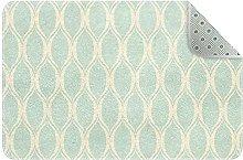 Strisce blu, tappetino da cucina tappeto da cucina