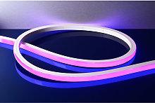 Striscia 24V LED flex neon flessibile 43W RGB