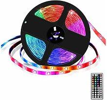 Striscia LED 5 m, multicolore, IP65, con