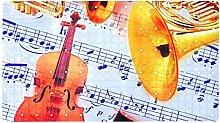 Strumenti musicali classici e spartiti antiscivolo