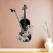 Strumento musicale Vinyl Wall Decalcomania