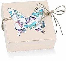 Subito disponibile 20 Pezzi Butterfly Scatolina