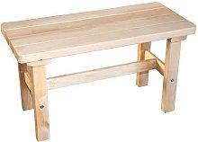 SudoreWell® - Panca per sauna in legno di ontano