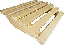 SudoreWell® - Poggiatesta per sauna in legno di