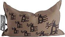 SudoreWell® Cuscino per sauna in 100% lino con