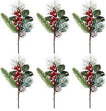 SUFUBAI - Confezione da 6 plettri natalizi per