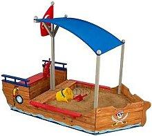 Suinga - Nave pirata sabbiera in legno