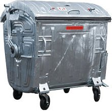 Sulo - Grande contenitore per rifiuti 1,1 m3 in