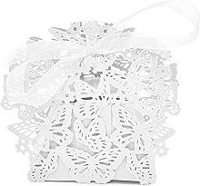 Sumshy 50 PZ Bianco Scatoline Portaconfetti