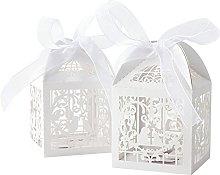 Sumshy 50 PZ Scatoline Portaconfetti Matrimonio