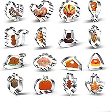 Suneast - Stampo per biscotti del Ringraziamento,