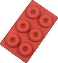 Suneast Stampo per ciambella in silicone, mini