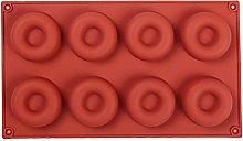 Suneast - Stampo per ciambelle, in silicone, con 8
