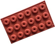 Suneast - Stampo per ciambelle, in silicone, mini