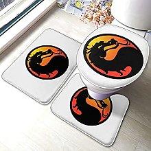 Sunmuchen Mortal Kombat - Set di 3 tappetini da