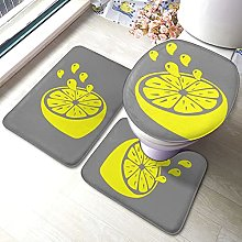 Sunmuchen, set di 3 tappetini da bagno, set da 3
