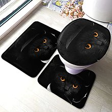 Sunmuchen, set di 3 tappetini da bagno, set di 3