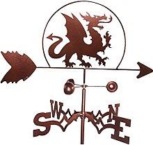 SunniMix Banderuola Segnavento in Metallo Ferro