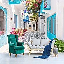 SUNNYBZ Murale Da Parete Design Moderno Blu Arte