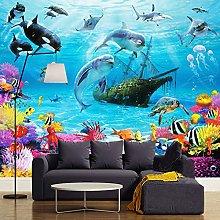 SUNNYBZ Murale Da Parete Design Moderno Blu