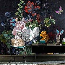 SUNNYBZ Murale Da Parete Design Moderno Fiori