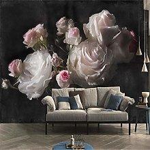 SUNNYBZ Murale Da Parete Design Moderno Rosa Fiore