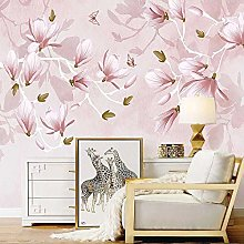 SUNNYBZ Murale Da Parete Design Moderno Rosa Fiori